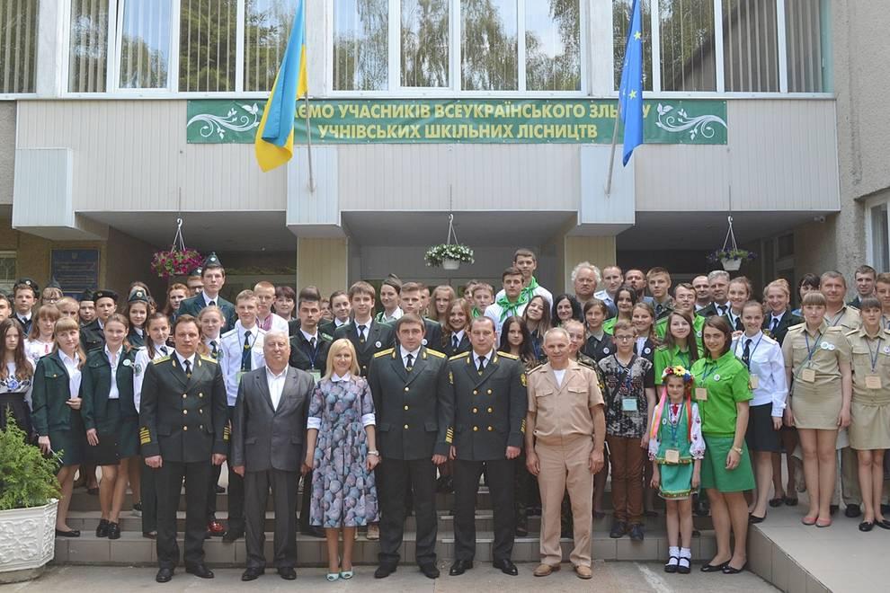 Х-й Всеукраїнський зліт шкільних лісництв на Черкащині (травень)