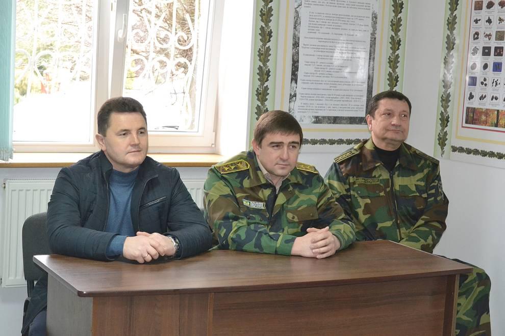 Голова Черкаської обласної ради відвідав Звенигородський лісгосп  (квітень)