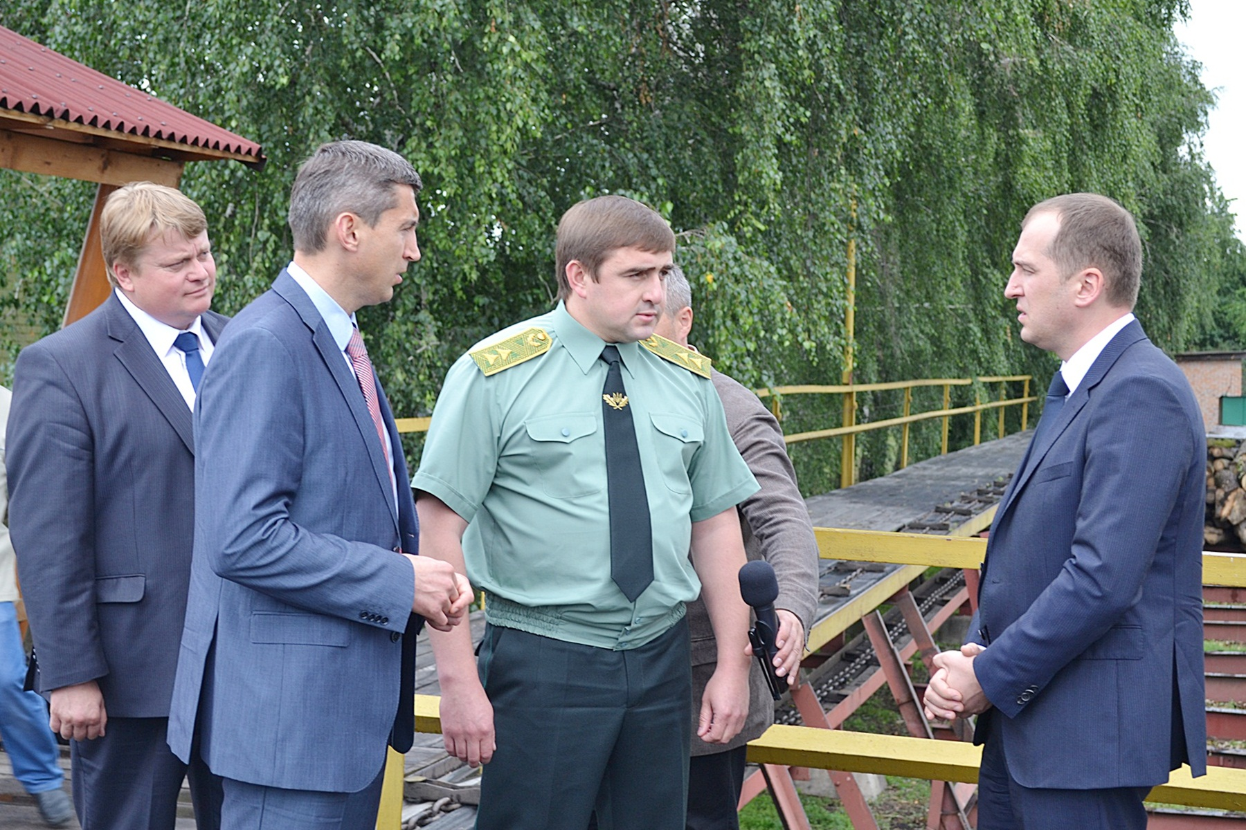Міністр агрополітики і продовольства  відвідав ДП «Смілянське лісове господарство» (липень)