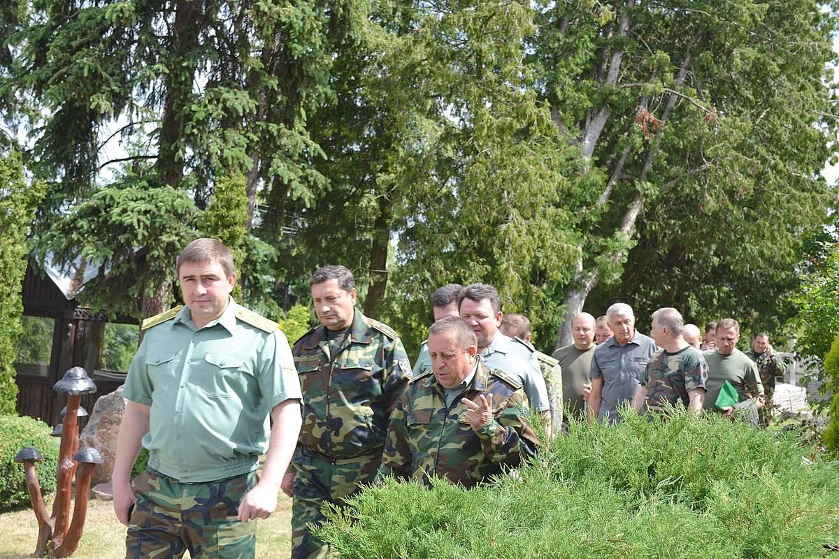 У Звенигородському лісгоспі відбулася виїзна колегія обласного управління (червень)