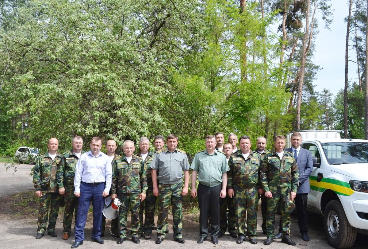 На Черкащині провели тактико-спеціальні навчання та представили лісовий пожежний патруль (травень)