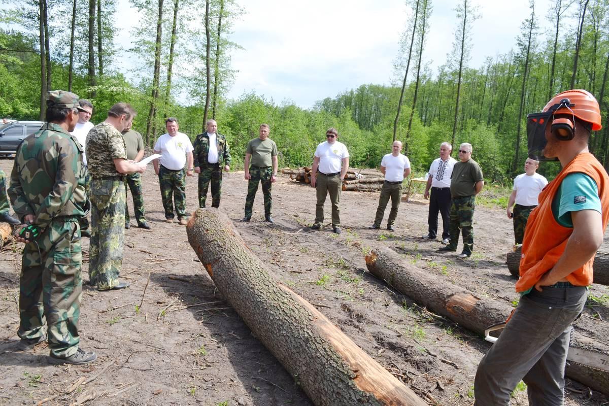 У Чигиринському лісгоспі відбулася виробнича нарада лісівників Черкащини (травень)
